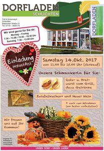 Flyer DLS-Herbstfest 2017