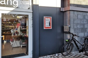 E-Bike-Ladestation am Dorfladen